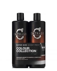 TIGI Cawalk Fashioniste Brunette Tween Duo, 2x750 ml.