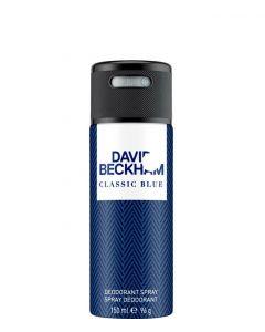 David Beckham Classic Blue Deodorant spray, 150 ml.