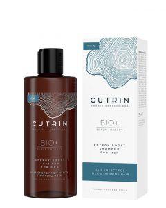 Cutrin Bio+ Energy Boost Shampoo for Men, 250 ml.