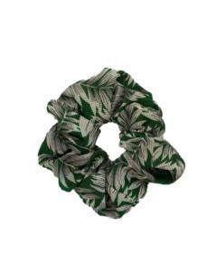 JA•NI hair Accessories - Hair Scrunchie, The Green Leafs