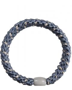 JA•NI Hair Accessories - Hair Elastics, The Blue & Silver