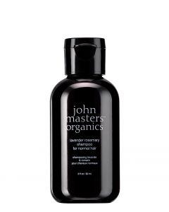 John Masters Organics Lavender & Rosemary Shampoo - rejsestørrelse, 60 ml.