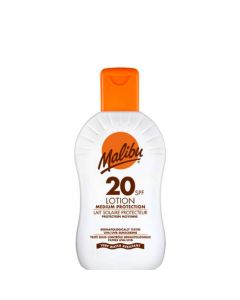 Malibu Protective Sun Lotion SPF20, 200 ml.