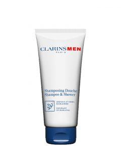 Clarins Clarins Men Body Hair & Body Shampoo, 200 ml.