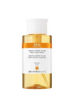 REN Skincare Ready Steady Glow Daily AHA Tonic, 250 ml.