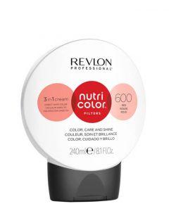 Revlon Nutri Color Filters 600 Red, 240 ml.
